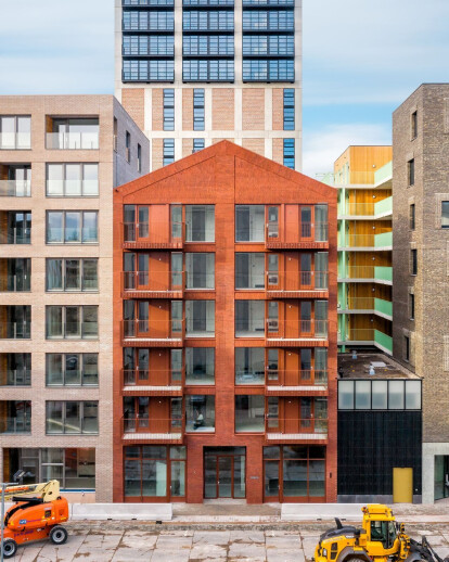 Red Ruby completed in an emerging Amsterdam neighbourhood