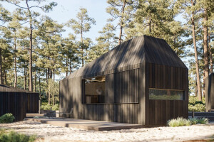 Hytte modular cabin concept responds to the changing nature of travel