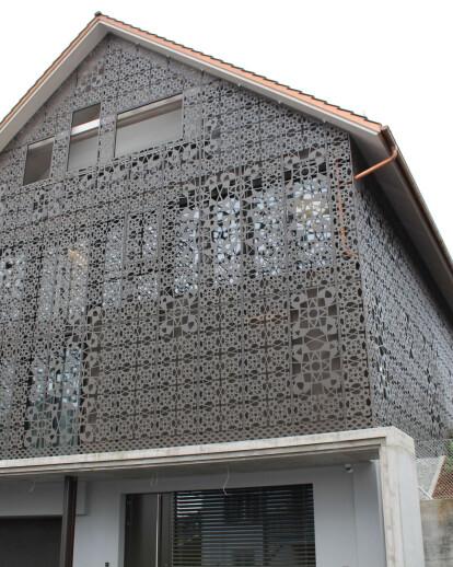 Building of Church Rümlang