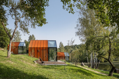 Latvian wellness resort keeps tradition alive with a contemporary architectural concept