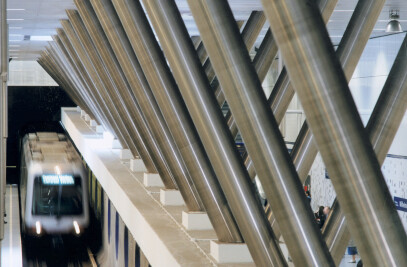 Metro station Wilhelminaplein, Rotterdam