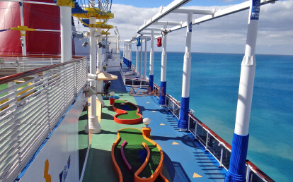 Cruises pillars safety protections