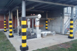 Industrial safety paddings for pillars