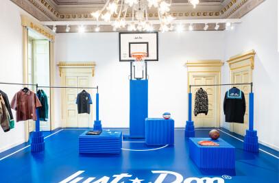 Just Don showroom design