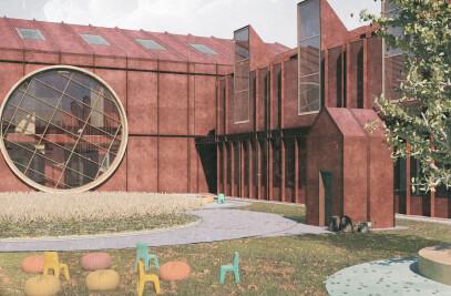 civic courtyard