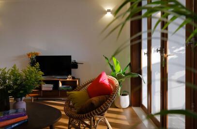 Gardening Terrace House