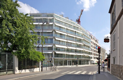 Student and social housing, Ourcq-Jaurès