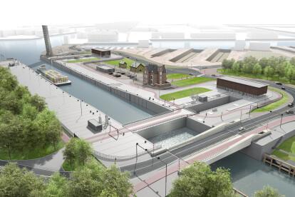 Renovation Royers Lock, Antwerp