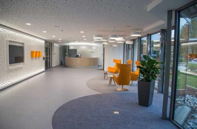 New Reception Area EnBW Ellwangen