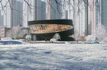 The Library of SONGDO International City