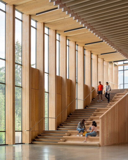 Michael Green Architecture's Oregon Forest Science Complex demonstrates the benefits of mass timber construction