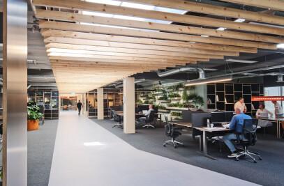 Headquarters construction company, Amsterdam