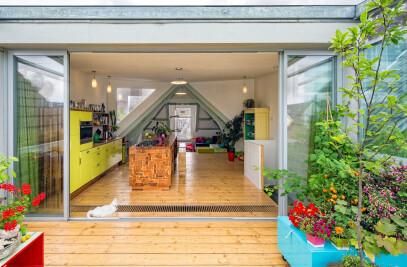 Cabrio-apartment