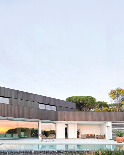 Low energy consumption house in cabrils