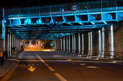 A plan for pedestrian underpasses in Lyon