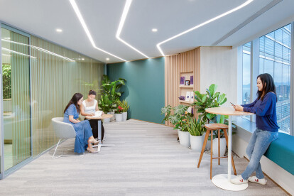 Best office designs in Hong Kong by Space Matrix