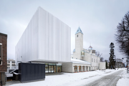 Kuopio Museum extension adds a light and contemporary layer to a rich architectural context