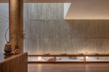 Yuomori Onsen and Spa fuses minimalist Japanese aesthetics with local materials