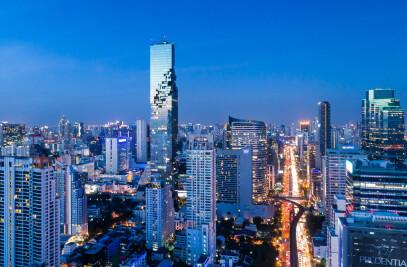 MahaNakhon Tower in Bangkok