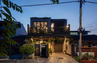 Concrete Jungle House