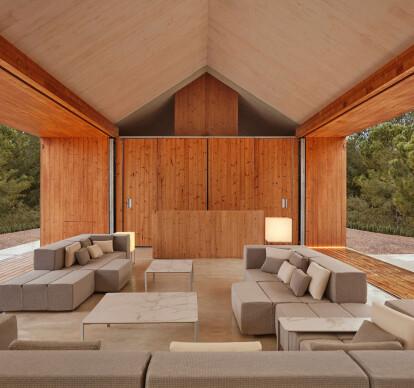 Tablet sofa modular