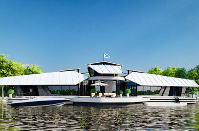 CYBER HOUSE BOAT