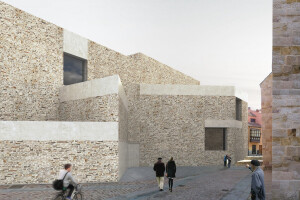 Geometrically complex Museum of Semana Santa de Zamora responds to history and memory of site