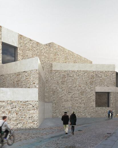 Geometrically complex Museum of Semana Santa de Zamora responds to history and memory of site