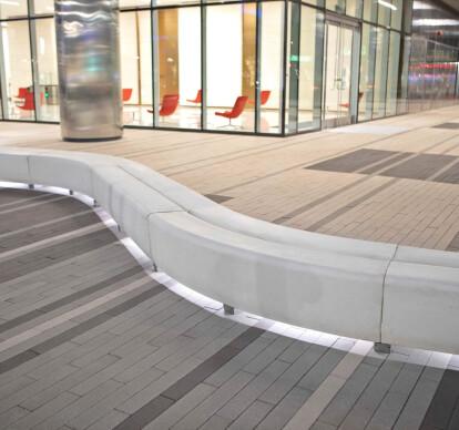 Typology Ribbon Bench
