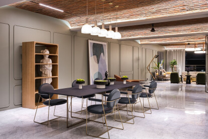 Polyphonic Apartment meshes modern with vintage in a home concept that doubles as furniture showcase