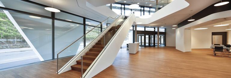 Bamboo Elite flooring in Südwestmetall Office