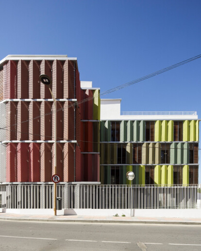 Headquarter of the Red Cross in Ceuta