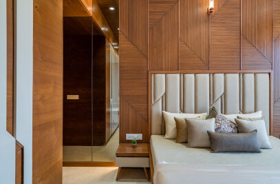 4 BHK Arjun Skylife Apartment Interior Design