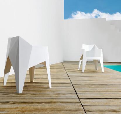 Voxel armchair