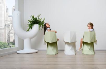 Voxel mini chair