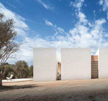 Es Pou. A house in Formentera