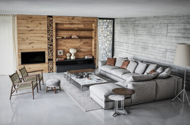 The Flexform Indoor Collection forms a harmonious design ecosystem
