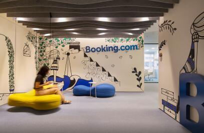 Booking.com HQ Athens