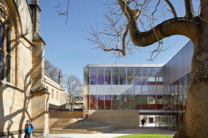Oxford's Wadham College unveils two new buildings by Amanda Levete Architects / AL_A