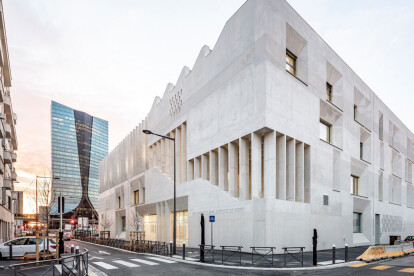 Massive and monumental Antoine de Ruffi School Group emerges in Marseille
