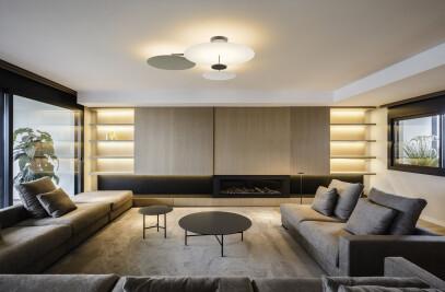 Flat Ceiling Lamp