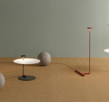 Flat Floor Lamps