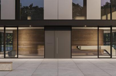 heroal D 72 commercial door system