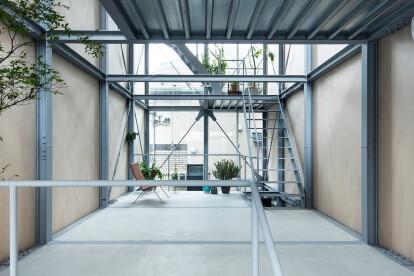 Design of Ebisu Tokyo house developed through a clever three-dimensional game