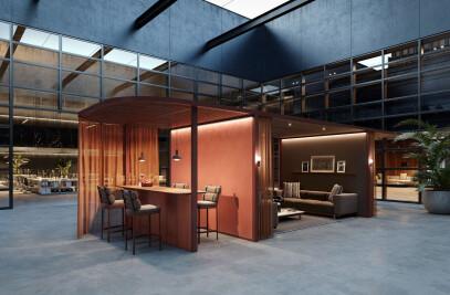 Pavillon O - Hub