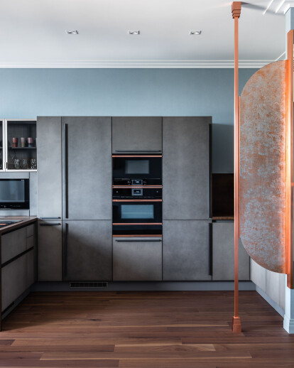 Private apartment / Moscow, Russia