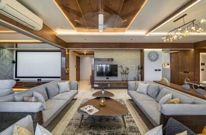 Interior Design of Aman Apartment