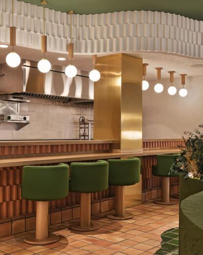 Masquespacio unveil a sensorial concept for a Spanish fine dining healthy food restaurant