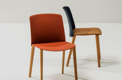 Mixu - Chair 4 wood legs
