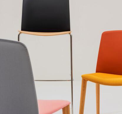 Mixu - Bar stool 4 legs stackable